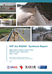 Off the RADAR_Cover page